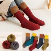 兒童襪子秋冬季男童女兒童純棉長筒款堆堆襪1-3-5-7-9歲加厚保暖寶寶襪子 喵小姐