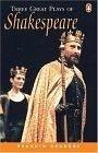 二手書博民逛書店《Three Great Plays of Shakespeare (Penguin Readers, Level 4)》 R2Y ISBN:0582426863