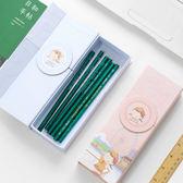 麻球系列文具盒紙質筆盒學生用大容量多功能筆盒    芊惠衣屋