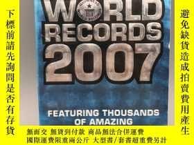 二手書博民逛書店【英文原版】Guinness罕見World Records 2007 (2007年吉尼斯世界纪录)Y32399