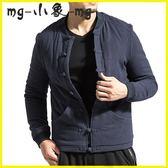 MG 唐裝-唐裝男青年棉襖外套羊羔毛加絨棉衣盤扣中式中山裝