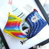 兒童雨鞋 日本外貿夏季新品兒童低筒雨靴寶寶防滑雨鞋子男女童鞋1-2-3歲 阿薩布魯