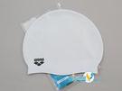*日光部屋* arena (公司貨)/ACG-210-WHT 舒適矽膠泳帽