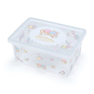 【震撼精品百貨】Little Twin Stars KiKi&LaLa 雙子星小天使~三麗鷗雙子星透明置物盒/收納盒#20198