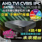 【台灣安防家】ICATCH 可取 4路4聲 AHD TVI 1920P 5MP 500萬 混合型 監控主機 DVR