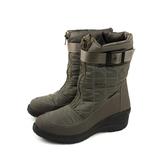 Grünland  靴子 中筒靴 保暖 墨綠色 女鞋 DO0285 no028