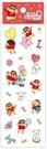 蠟筆小新 可愛小貼紙 紅 CS04481C