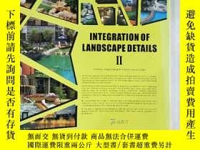 二手書博民逛書店INTEGRATION罕見OF LANDSCAPE DETAIL