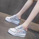 厚底鞋 內增高包頭半拖鞋女2021年新款夏季網紅厚底拖鞋外穿高跟涼拖女鞋 小天使