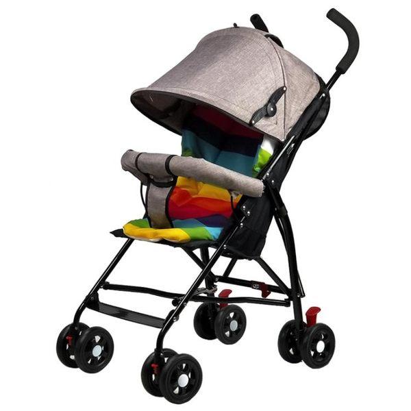 【優選】便攜式嬰兒推車超輕便小孩兒童折疊手推傘車