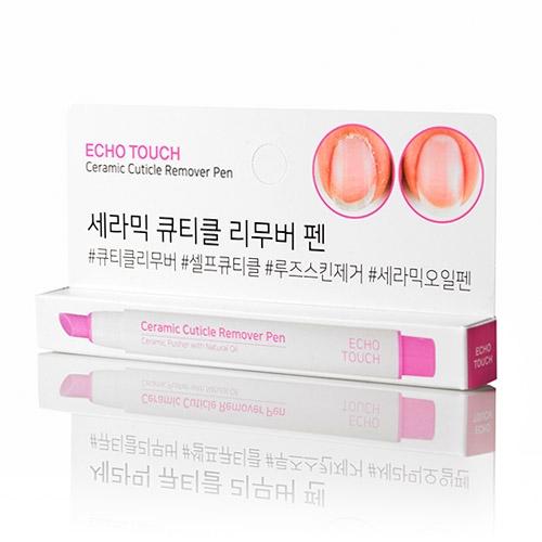 韓國 正品 ECHO TOUCH 陶瓷角質去除筆 指緣修護筆 美甲必備 死皮擦擦筆