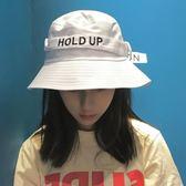韓國帽子女春夏潮字母大檐盆帽太陽帽出游戶外漁夫帽遮陽帽沙灘帽   mandyc衣間