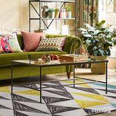 北歐幾何ins客廳地毯臥室滿鋪房間床邊毯 現代簡約沙發茶幾毯地墊 LN1920 【Sweet家居】