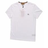 【BURBERRY】戰馬LOGO平織圓領T-shirt(白色) 4061819