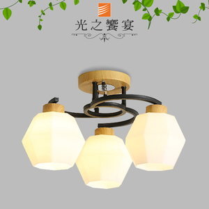 【光之饗宴】蘿賓 3燈半吸頂燈