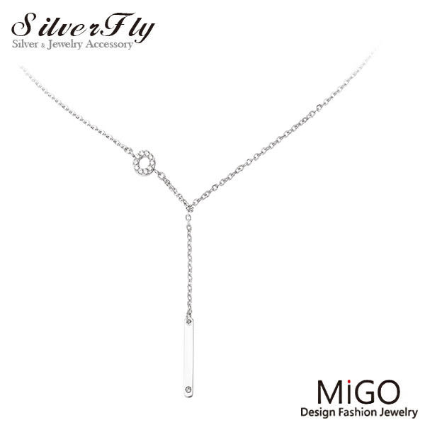 《 SilverFly銀火蟲銀飾 》【MiGO】永恆項鍊