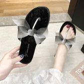 平底拖鞋拖鞋女夏外穿平底仙女風夾趾涼拖新款韓版百搭網紅女鞋ins潮 可然精品