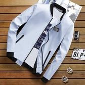 外套韓版修身帥氣棒球服潮流薄款夾克男裝上衣 黛尼時尚精品