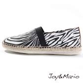 【Joy&Mario】百搭塗鴉斑馬休閒鞋 - 03009W ZEBRA 美碼9