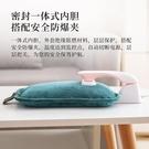 現貨 熱水袋冬季水電分離充電式新款電熱水袋毛絨布套雙插手熱水袋定制