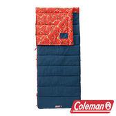 【美國Coleman】COZY II紅睡袋/C5 信封型睡袋 化纖睡袋 可雙拼連接 (舒適溫度:5℃) CM32340