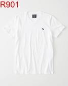 AF A&F Abercrombie & Fitch A & F 男 當季最新現貨 短袖T恤 AF R901