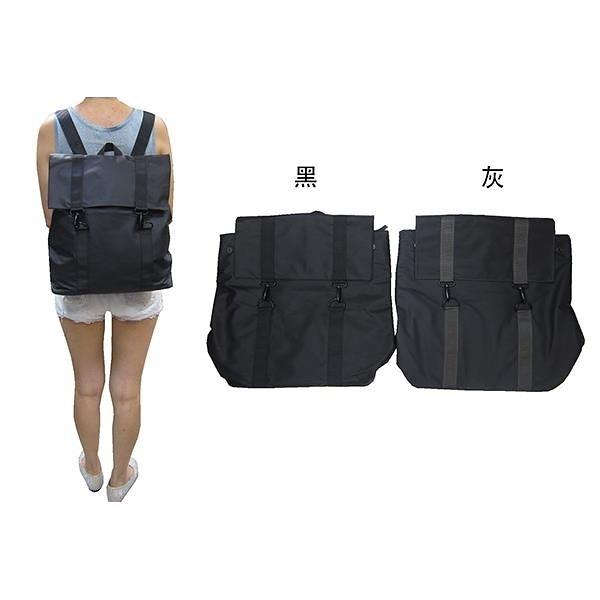 【南紡購物中心】~雪黛屋~COUNT 後背包中大型容量可A4資料夾中性款