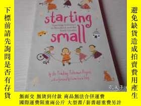 二手書博民逛書店starting罕見small, teaching tolera