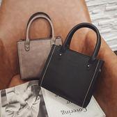 正方形手提斜背包包女生夏季新款潮時尚個性簡約百搭韓版大氣