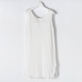 [titty&co]兩件式無袖造型洋裝(白)