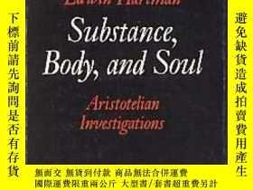 二手書博民逛書店Substance,罕見Body, And SoulY256260 Edwin Hartman Princet