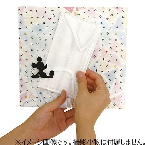 又敗家@日本製Prairie Dog迪士尼DISNEY米奇小熊維尼抗菌口罩收納套3層口罩收納袋DSN-MSK3P口罩收納夾