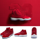 Nike Air Jordan 11 Retro Win Like 96 紅 白 XI 喬丹11代 男鞋【PUMP306】 378037-623