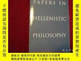 二手書博民逛書店Papers罕見in Hellenistic Philosoph