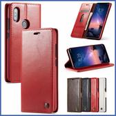 小米 紅米 Note 6 Pro 紅米6 CM瘋馬紋銅釦 手機皮套 插卡 隱形磁扣 掀蓋殼 皮套