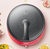 電餅鐺電餅檔單面加熱煎餅鍋小型烙餅鍋家用加深加大煎鍋薄餅機春 潮流衣舍