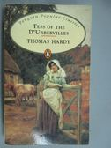 【書寶二手書T6/原文小說_GNK】Tess of the D Urbervilles_HARDY