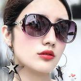 太陽鏡女潮款新品墨鏡女士圓臉大框開車眼鏡可配(限時八八折)