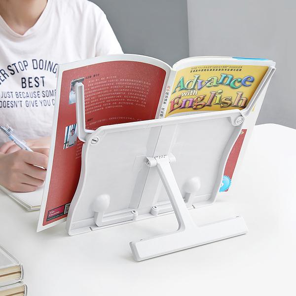 簡約多功能閱讀架 讀書架 看書支架 夾書器 (顏色隨機出貨)