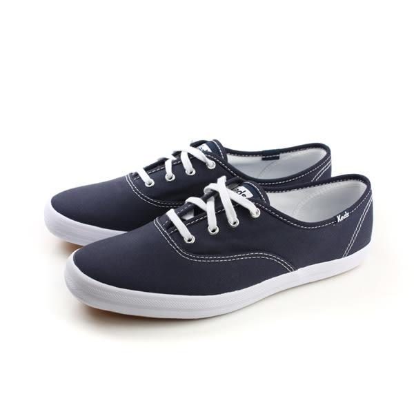 Keds CHAMPION NAVY CANVAS 帆布鞋 休閒 女鞋 經典款 深藍 9171W110004 no004