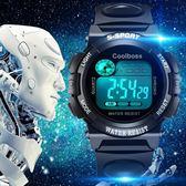 【618好康又一發】防水運動電子錶學生夜光戶外手錶