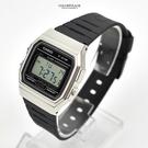 CASIO手錶 銀色錶殼電子膠錶NECD2