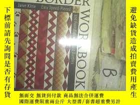 二手書博民逛書店The罕見Border Workbook:Easy Speed-Pieced and Foundation-Pie
