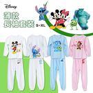 迪士尼 Disney 兒童 薄款 長袖衣褲 家居服 套裝組 台灣製