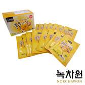 韓國 NOKCHAWON 綠茶園 蜂蜜柚子茶 (30g×15包/盒) 黃金柚子茶