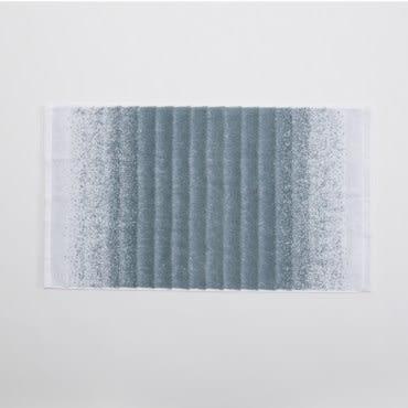 HOLA 條紋漸層毛巾-藍綠40X70