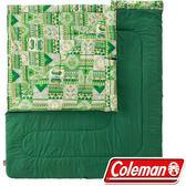 【早點名露營生活館】Coleman  美國 2in1 C10家庭睡袋 CM-27256M000