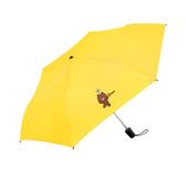 【LINE FRIENDS】授權防潑自動開收傘-單人款(6款任選)黃色熊大