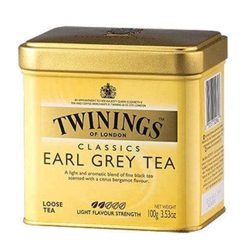 英國《TWINING唐寧》EARL GREY TEA 皇室御用伯爵茶 100g/罐