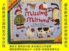 二手書博民逛書店Missing罕見Mittens (MathStart 1)[丟失的手套(數學啟蒙1)16開Y10249 St